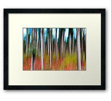 Treecolour Framed Print