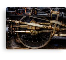 Railroad Wheel Canvas Print