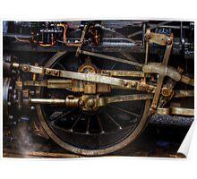 Railroad Wheel Poster