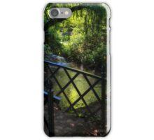 BRIDGE TO THE PARADISE GARDEN iPhone Case/Skin