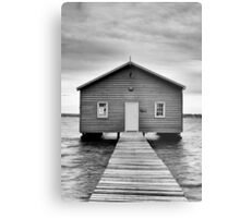 Crawley Edge Boatshed - Perth WA Metal Print