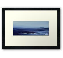 The Sea I Framed Print