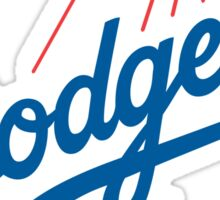 los angels dodgers  Sticker