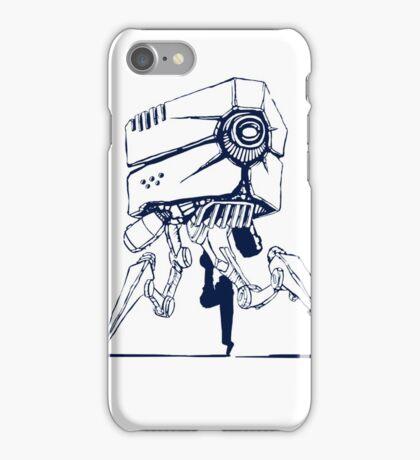 Robot tripod iPhone Case/Skin