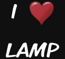 I Love Lamp by Schwaah