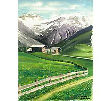 HOLIDAY IN AROSA Photographic Print