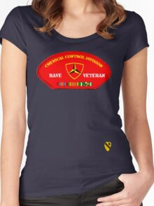 Rave Veteran - Chemical Control Division Women's Fitted Scoop T-Shirt