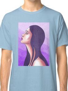 Purple Portrait Classic T-Shirt