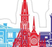 Gothenburg skyline pop Sticker