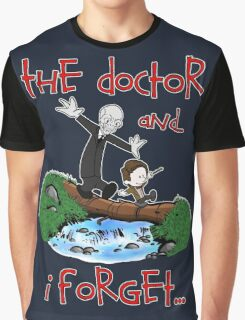 Calvin and Hobbes Doctor Graphic T-Shirt