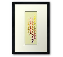 Monkey chain Framed Print