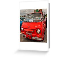 1970 Subaru 360 Greeting Card