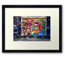 Backstreet Art Framed Print