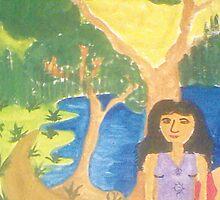Lonely Girl by warunianjalika