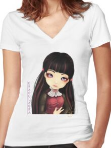 Draculaura Daughter of Dracula Women's Fitted V-Neck T-Shirt