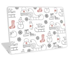 Freehand drawing Winter holiday Laptop Skin
