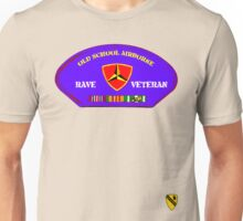 Rave Veteran - Old School Airborne Unisex T-Shirt
