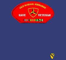 Rave Veteran - Old School Airborne Unisex T-Shirt