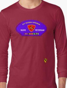 Rave Veteran - 1st Techno Division Long Sleeve T-Shirt