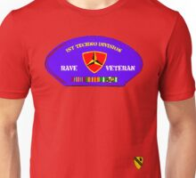 Rave Veteran - 1st Techno Division Unisex T-Shirt