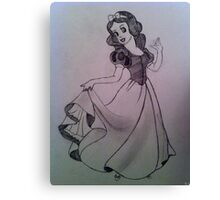 Snow White. Canvas Print
