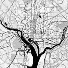 Washington OpenStreetMap Poster by Traut1