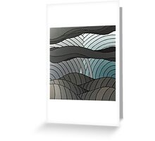 The Greyscale Collection no.4 Greeting Card