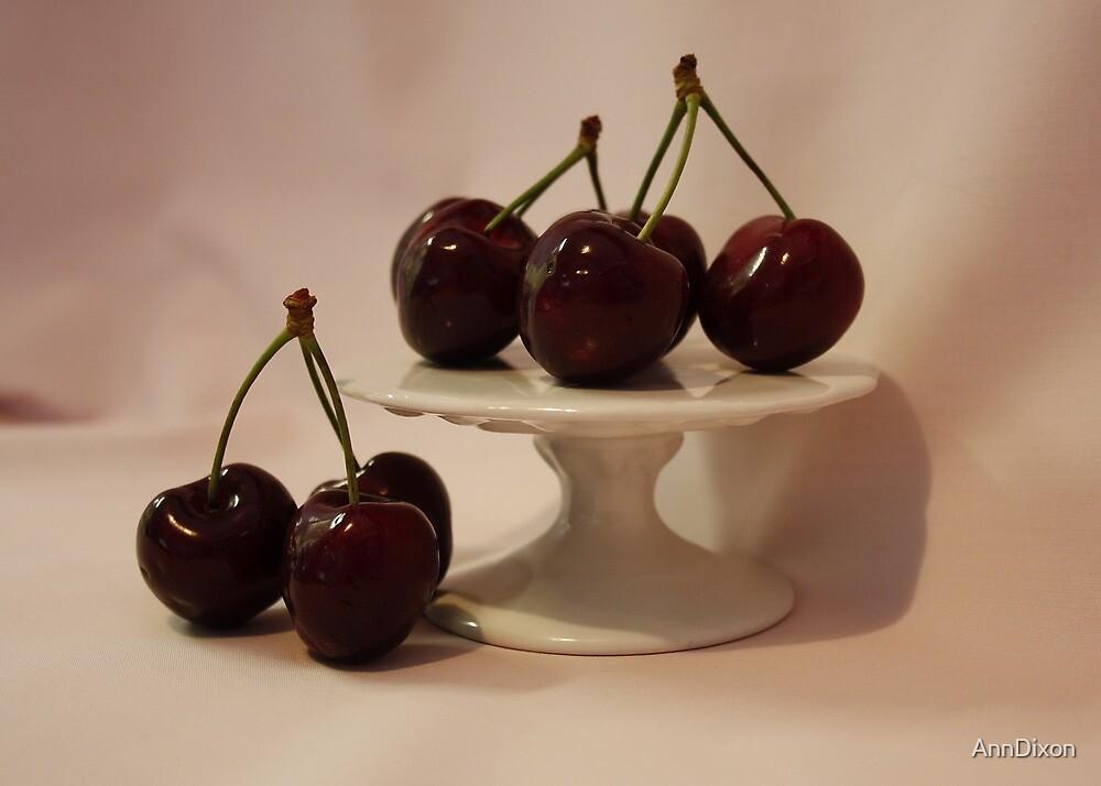 Black Cherries by AnnDixon