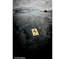 Ferrari Badge  Photographic Print