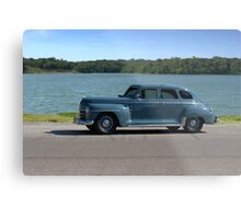 1946 Plymouth Special Deluxe Metal Print
