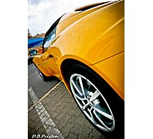 Fast Curves  Photographic Print