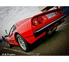 Ferrari Power  Photographic Print
