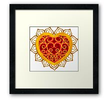 Follow Your Heart Container Framed Print