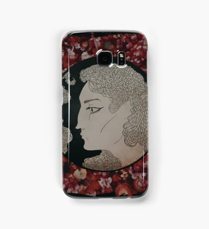 a bed of flowers Samsung Galaxy Case/Skin
