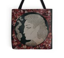 a bed of flowers Tote Bag