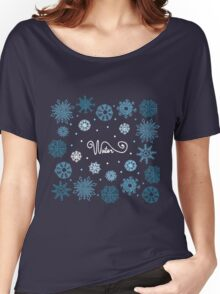 Beautiful snowflakes Women's Relaxed Fit T-Shirt