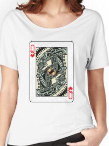 ALIEN QUEEN OF HEARTS Women's Relaxed Fit T-Shirt