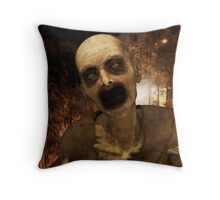 Undead in The City Throw Pillow