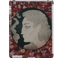 a bed of flowers iPad Case/Skin
