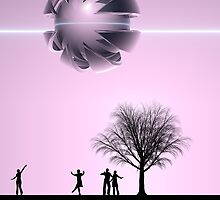 UFO Sighting by perkinsdesigns