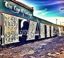 Faith, Woodstock, Cape Town by Jono Le Feuvre