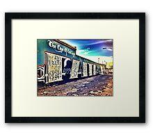Faith, Woodstock, Cape Town Framed Print