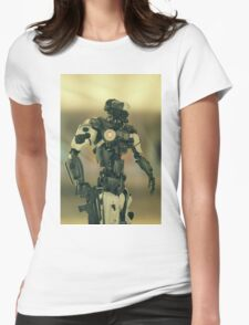 CyberCop - The Future of Law Enforcement Womens Fitted T-Shirt