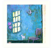 ALICE'S HOME Art Print