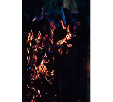 Fire basket Photographic Print