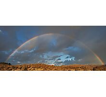 Full Rainbow Sunrise Photographic Print
