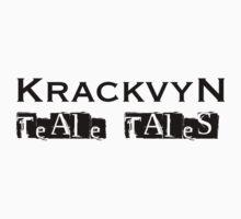 Teale Tales: Wyv Land of Magik Character T-Shirt - Krackvyn by Tealetales