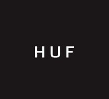Huf Logo iPhone Case by Joeytacos