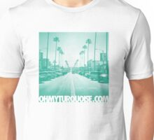 San Diego / Ocean Beach in Turquoise Unisex T-Shirt