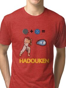 Street Fighter Hadouken! Tri-blend T-Shirt